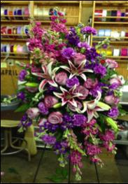 Fragrant Standing Funeral Flower
