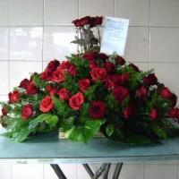 jual bunga meja congratulations di tangerang