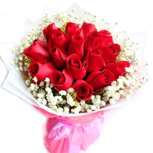 Rangkaian Bunga mawar Valentine Romantis Di Karawang