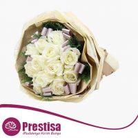 Pesan Bunga Valentine Mawar Putih Di Toko Bunga Online Prestisa Di Sumur Batu Kota Bekasi