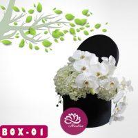 Jual Flower Box Hari Ibu di Bekasi