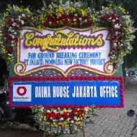 Toko Karangan Bunga Papan Congratulation Murah di Kecamatan Sekupang di Kota Batam (BPC-61)
