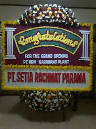 Jual Bunga Papan Ucapan Congratulation Di Kota Surabaya