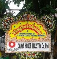 Pesan Bunga Papan Congratulation Kelapa Gading