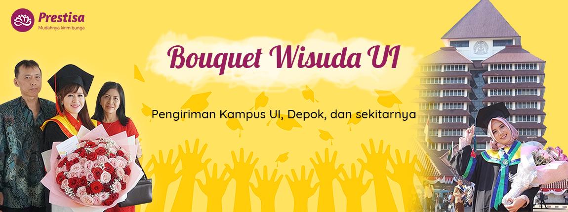 Bouquet Wisuda UI