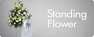 standing flower jakarta