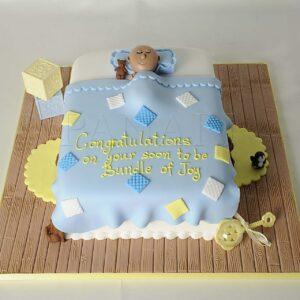 Cake New Baby Born
