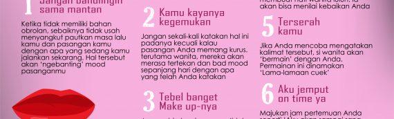 Jangan Mengatakan Kalimat-Kalimat Ini Pada Pasangan Anda!!
