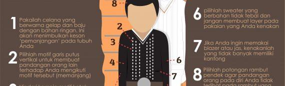 Tips Fashion Untuk Pria bertubuh Pendek!