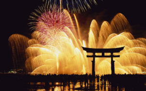 New-Year-Fireworks-Japan-2014-Wallpaper