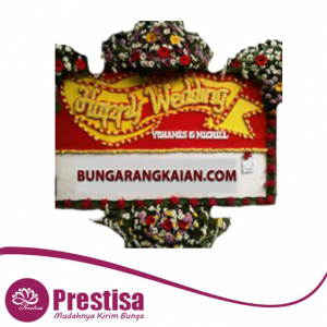 bpw-bdg-01-bunga-papan-happy-wedding