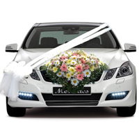 car wedding