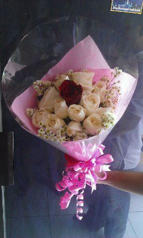 Jual bunga buket harga terjangkau di temanggung jawa tengah