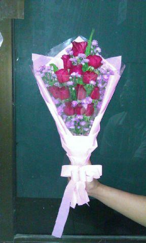 Toko Bunga Salatiga Handboqet mawar salatiga 09