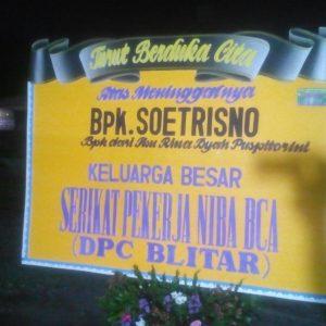 Toko Bunga Tulungagung Karangan Bunga Duka Cita Ukuran Kecil Kota Tulungagung -01
