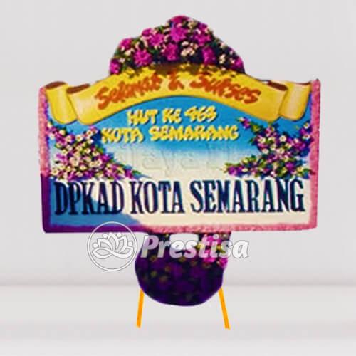 KARANGAN BUNGA PAPAN SELAMAT DAN SUKSES 01