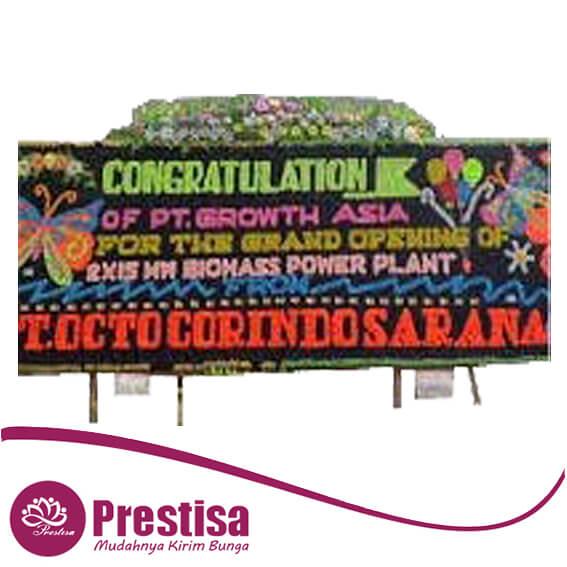 bunga papan congratulation medan MDN-02