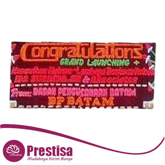bunga papan congratulation medan MDN-03