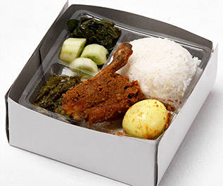 nasi box ayam telor
