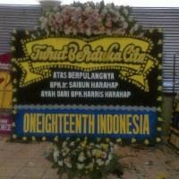 Jual Karangan Bunga Papan Duka Cita Cantik & Murah di Kecamatan Batam Kota di Kota Batam (DBC-24)