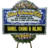 Jual Karangan Bunga Papan Duka Cita Cantik di Kecamatan Batu Aji di Kota Batam (DCA-06)