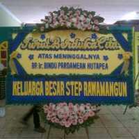 Pesan Cepat Karangan Bunga Papan Wedding di Kecamatan Bulang di Kota Batam (DCA-29)