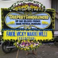 Pesan Dan Cepat Antar Karangan Bunga Papan Duka Cita diKecamatan Sagulung di Kota Batam (DCA-41)