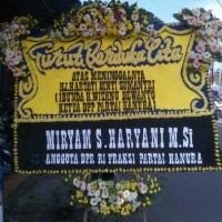 Kirim Express Karangan Bunga Papan DukaCita di Kecamatan Lubuk Baja di Kota Batam (DCB-32)