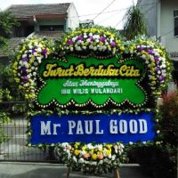 Kirim Express Karangan Bunga Papan Duka Cita di Kecamatan Lubuk Baja di Kota Batam (BPC-37)