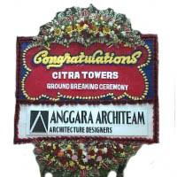Pesan Cepat Karangan Bunga Papan Congratulation di Kecamatan Bulang di Kota Batam ( BPC-10)