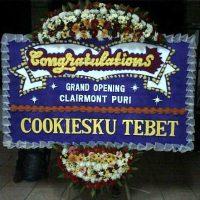 Jual Karangan Bunga Papan Congratulation di Kecamatan Belakang Padang di Kota Batam (BPC-28)