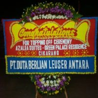 Toko Karangan Bunga Papan Congratulation di Kecamatan Belakang Padang di Kota Batam (BPC-38)
