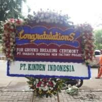 Pesan Cepat dan Antar Karangan Bunga Papan Congratulation di Kecamatan Sangulung di Kota Batam (BPC-62)