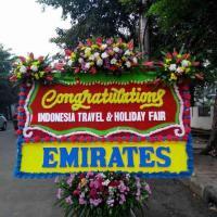 Toko Prestisa Jual Karangan Bunga Papan Congratulation di Kecamatan Sungi Beduk di Kota Batam (BPC-63)