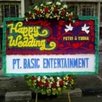 Pesan Cepat Karangan Bunga Papan Wedding di Kecamatan Talagasari di Karawang (BPW-114)