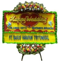 Jual Karangan Bunga Papan Wedding Di Surabaya