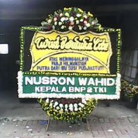 Pesan Antar Karangan Bunga Papan Duka Cita dengan Kata-Kata Cantik di Kecamatan Majalaya di Karawang (DCB-19)