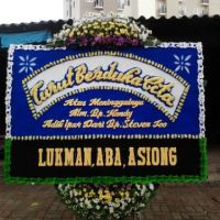 Toko Karangan Bunga Papan Duka Cita di Kecamatan Cibuaya di Karawang (DCB-24)