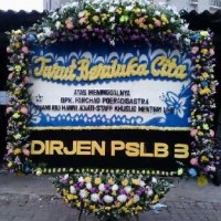 Jual Karangan Bunga Papan Duka Cita Cantik di Kecamatan Pangkalandi Karawang (DCG-09)