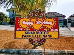 Jual Bunga Papan Wedding Di Kota Surabaya