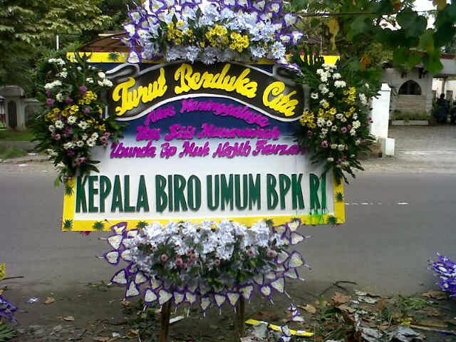 jual bunga ucapan belasungkawa di Kabupaten bandung barat