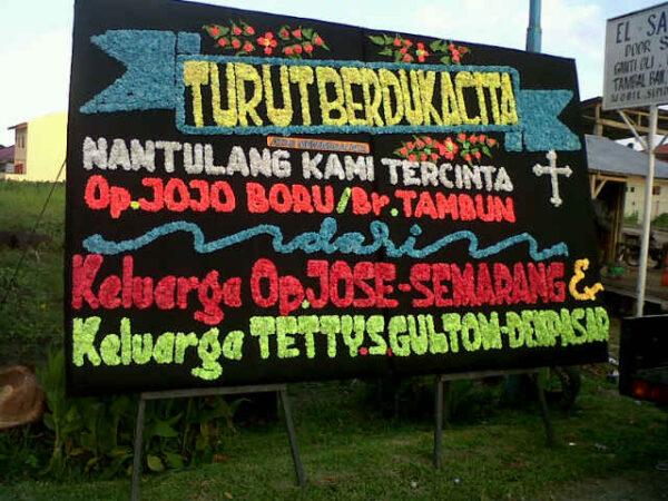 Jual Rangkaian Bunga Papan Duka Cita Di Daerah Surabaya
