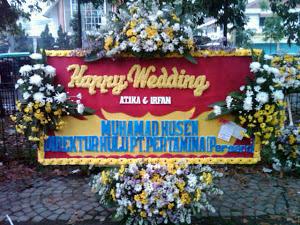 kirim karangan bunga pernikahan di kabupaten bandung barat