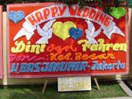 kirim bunga ucapan pernikahan di daerah kelapa gading