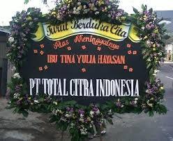 pesan bunga ucapan duka cita di daerah kelapa gading