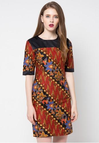 Baju Batik Wanita Kantoran