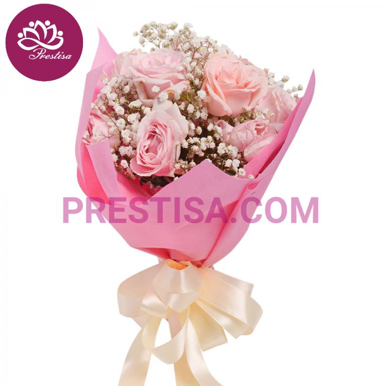 Pesan Bunga Mawar Handbouquet Untuk Kabupaten Surabaya