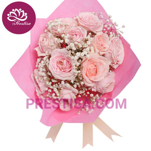 Jual Bunga Handbouquet Mawar Untuk Kota Jakarta