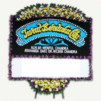 Jual Karangan Bunga Duka Cita, Kel. Amplas, Kota Medan