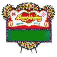 Toko Bunga di Rapocini, Makassar | Jual Karangan Bunga Wedding